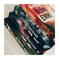 #themazerunner #thescorchtrials #thedeathcure #thekillorder #labirentserisi #ölümcülkaçış #alevdeneyleri #sonisyan #ölümemri #jamesdashner #pegasus #books #kitap #kitaplar