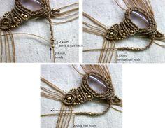 free macrame necklace by me,  http://ecocrafta.blogspot.com/2016/07/primitive-necklace.html
