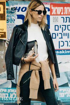 Tel Aviv-based stylist and blogger Meital Weinberg Adar. | Read more at H&M Life