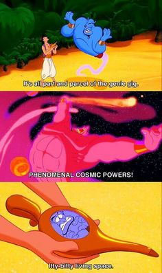 Poor genie