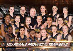 2016 Manitoba Provincial Team - 15U Female