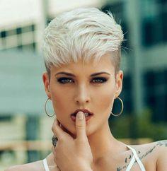 Baily Bullock Short Hairstyles - 1 #PixieHairstylesFunky