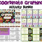 This title bundles together four individual, engaging activities to help students practice finding and plotting coordinate points on a  graph. (You...