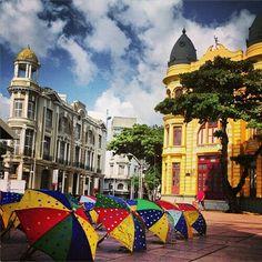 Marco Zero. Recife Antigo.