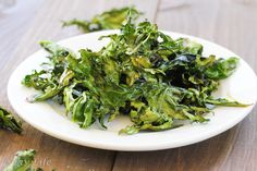 Liv Life: Roasted Kale with Garlic and Truffle Oil