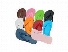 4ee995fac54a Cariris Solid Colors Rubber Flip-flops