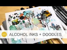 video demo by CeeCee: doodling on alcohol inks and testing out all my markers ! video demo by CeeCee: doodling on alcohol inks and testing out all my markers ! Alcohol Ink Crafts, Alcohol Ink Painting, Alcohol Markers, Alcohol Ink Art, Ink Doodles, Artist Pens, Marker Art, Marker Crafts, Diy Crafts