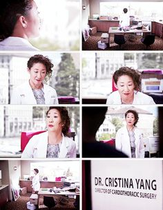 SO SO proud of how much Cristina Yang has grown and how well she will flourish in her new surroundings