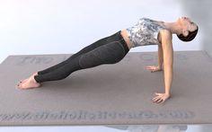 Purvottanasana Reversed Plank Yoga Pose पुर्वॊत्तासन