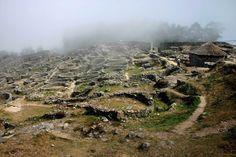 Celtic ruins in Galicia, Spain