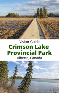 Crimson Lake Provincial Park is a year-round destination for outdoor recreation near Rocky Mountain House. Here are some things to do and tips for visiting. Travel Guides, Travel Tips, Canadian Travel, Canadian Rockies, Alberta Travel, Visit Canada, Travel Oklahoma, Parcs, New York Travel