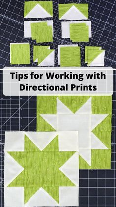 Directional Prints {HSTs and Stitch and Flip} – Quilting Jetgirl Star Blocks, Quilt Blocks, Half Square Triangles, Quilting Tutorials, Quilting Projects, Things To Come, Stripes, Stitch, Fabric