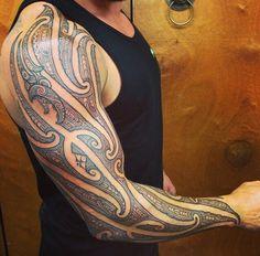 Done at House of Natives Aotearoa – Best Tattoo Models Maori Tattoo Arm, Tatau Tattoo, Full Body Tattoo, Body Art Tattoos, Sleeve Tattoos, Tatoos, Filipino Tribal Tattoos, Polynesian Tattoos, Native Tattoos