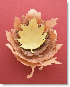 Oak-Leaf Bowl Wool & Felt DIY · Felting   CraftGossip.com