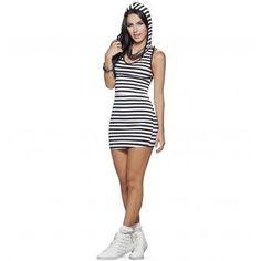 Vestido Juvenil Femenino Marketing Personal 43064 Multicolor