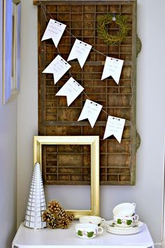 Add a perfect vintage and cozy accent to your home with this DIY Irish Blessing stamped paper garland.