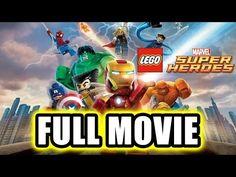 LEGO Marvel Super Heroes FULL MOVIE (2013) All Cutscenes TRUE-HD QUALITY