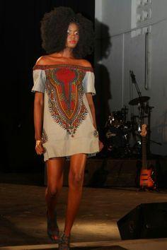 Dashiki dress~Latest African Fashion, African Prints, African fashion styles, African clothing, Nigerian style, Ghanaian fashion, African women dresses, African Bags, African shoes, Kitenge, Gele, Nigerian fashion, Ankara, Aso okè, Kenté, brocade. ~DK