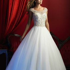 Style: C370 - You won't be able to keep yourself from waltzing in this magical ballgown.