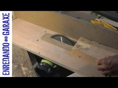 Homemade table saw with lift, part 1 - YouTube