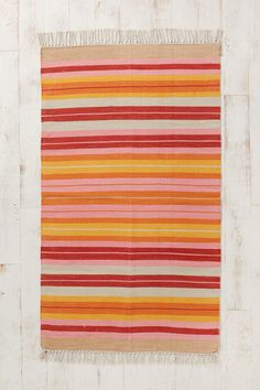 Blanket Stripe Woven Rug for the kitchen, urban Outfitters $29