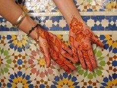 Moroccan Henna