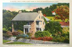 General Sibley's Home in Mendota, Minnesota Postcard