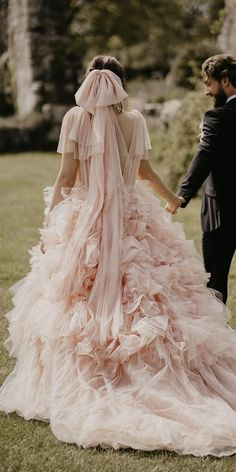 Color Trend: 18 Blush Wedding Dresses You Must See ❤ blush wedding dresses tulle skirt ball gown ruffled skirt mark bamforth ❤ #weddingdresses #weddingoutfit #bridaloutfit #weddinggown Tulle Skirt Wedding Dress, Colored Wedding Dresses, Ruffle Skirt, Wedding Gowns, Bridal Outfits, Color Trends, Ball Gowns, Blush, Bride