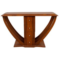 Art Deco Console Table | From a unique collection of antique and modern console tables at http://www.1stdibs.com/furniture/tables/console-tables/