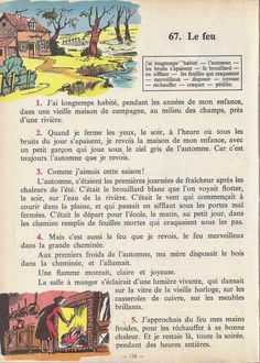 Manuels anciens: Tranchart, Levert, Rognoni, Bien lire et comprendre Cours élémentaire (1963) : grandes images French Learning Books, Teaching French, French Kids, French Class, French Language Lessons, French Lessons, French Fairy Tales, Learn French Fast, French Worksheets