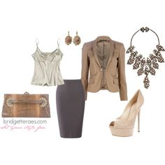 Suited Luxe, created by bridgetteraes on Polyvore