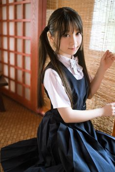 Post anything (from anywhere!), customize everything, and f School Girl Dress, School Girl Japan, Japan Girl, Cute School Uniforms, School Uniform Girls, Beautiful Japanese Girl, Beautiful Asian Girls, Cute Asian Girls, Cute Girls