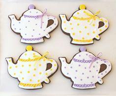 chocolate teapot cookies.