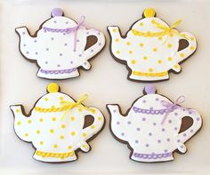 chocolate teapot cookies.