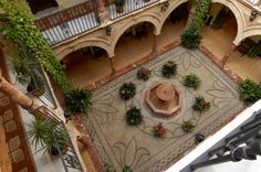 andalusian courtyard - Google Search