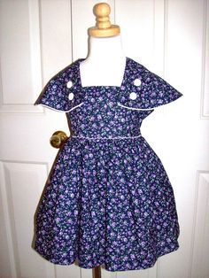 Check out this item in my Etsy shop https://www.etsy.com/listing/59067307/1950s-style-dress-girls-vintage-style
