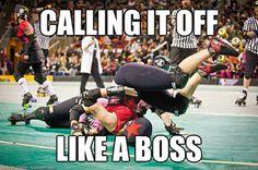 Calling it off like a boss.