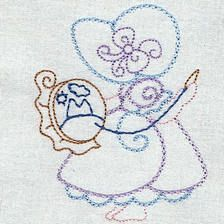 Sewing Sunbonnets - Free Instant Machine Embroidery Designs