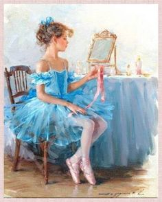Bailarina Aquarela