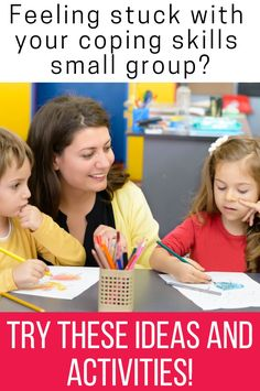 Are you doing a school counseling small group focused on coping skills and aren't sure where to start. These ideas and activities will help your students learn the strategies they need for self-regulation. They will understand what positive coping skills are, why they matter and how they can use them in their own lives. Use these ideas to make planning your next coping skills small group easier! Coping Skills Activities, Emotions Activities, Group Counseling, School Counseling, Deep Breathing Exercises, Positive Self Talk, Guidance Lessons, Self Regulation, Feelings And Emotions