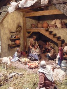 1 million+ Stunning Free Images to Use Anywhere Nativity Stable, Diy Nativity, Christmas Nativity Scene, A Christmas Story, Christmas Fun, Beautiful Christmas, Christmas Crib Ideas, Rustic Christmas Crafts, Xmas Crafts