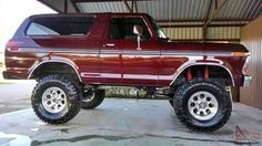 Tough Ford Bronco