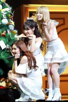 Seohyun, Tiffany, and Taeyeon, TaeTiSeo Sooyoung, Yoona, Snsd, Kim Hyoyeon, South Korean Girls, Korean Girl Groups, Girls' Generation Tts, Kwon Yuri, Angelic Pretty