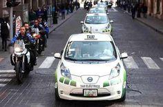 Taxis eléctricos en el DF