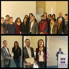 Maltepe Üniversitesi Stratejik Kariyer Planlama seminerinden