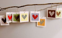 WEDDING GUEST BOOK Alternative Wish Tree Tags-set of 25-Colorful Earth Tones