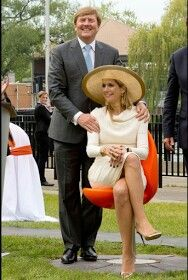 Queen Maxima & King Willem-Alexander In Toronto On 3rd Day Of Canadian State Visit May 29, 2015.