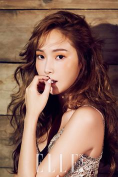K pop solo artist Jessica Jung is the latest idol to be featured in the fashion publication Elle Magazine. The idol rocks her good looks for the pictorial while adoring fashion to kill for. The starlet has released her solo debut album With Love, J. Jessica Jung, Jessica & Krystal, Krystal Jung, Ex Girl, Girl Day, Snsd, Yoona, Summer Beauty Tips, Elle Magazine