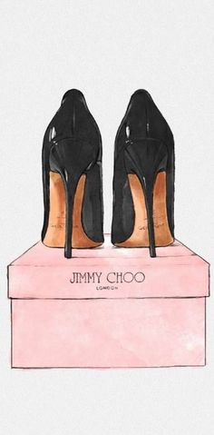 Jimmy Choo Drawing #fashionillustration #sketch #drawing