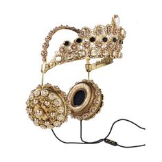 10 Super Luxe Headphones ❤ liked on Polyvore featuring accessories and tech accessories